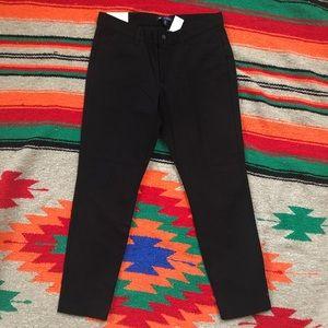 Gap black dress capri pants